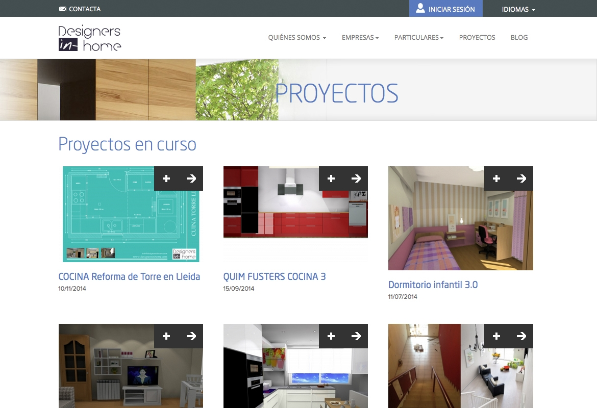 Excepcional web de decoraci n de interiores friso ideas for Estudiar diseno de interiores online